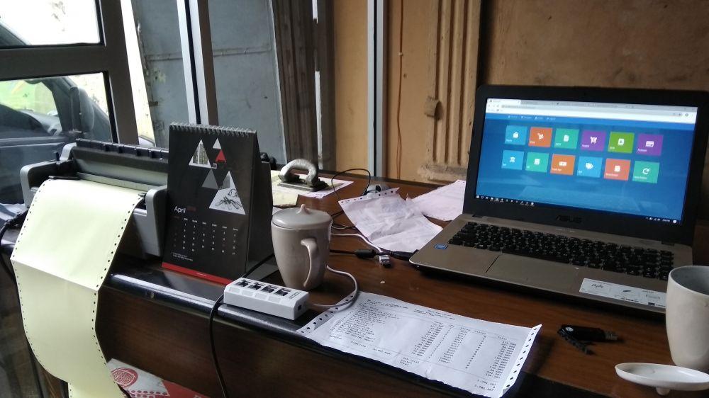 Pemasangan Aplikasi Kasir dan Penjualan Toko Bangunan Banjarnegara