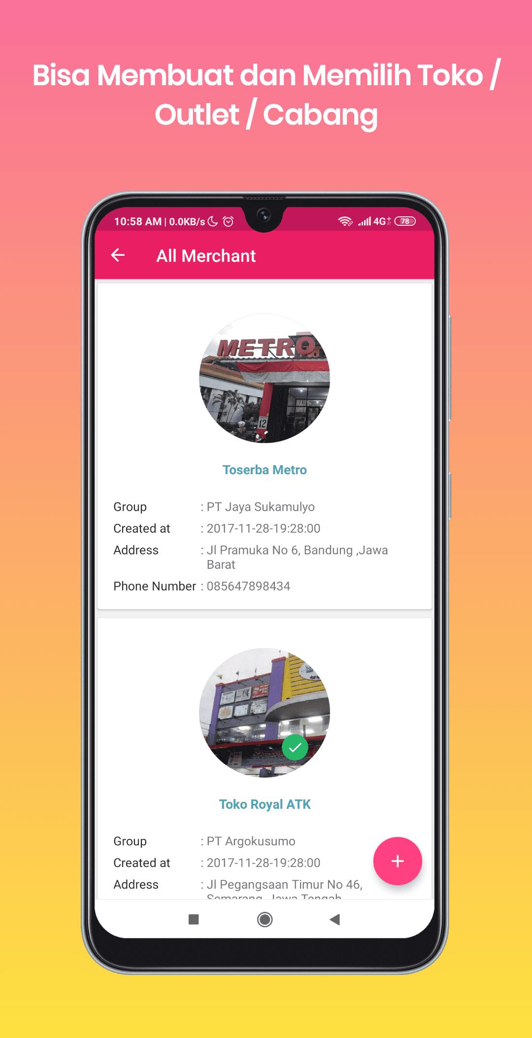 Aplikasi Penjulan Banjarnegara