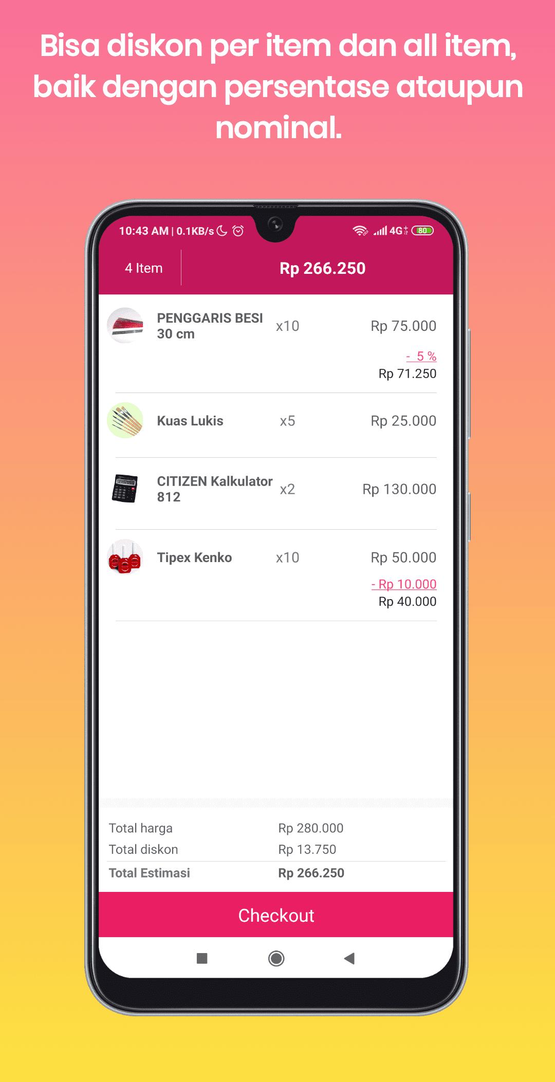 Aplikasi Kasir Penjualan Banjarnegara