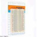 Gambar 1 Breadboard mini 8.5x5.5 cm 400 titik lubang arduino